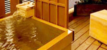 Room with an open-air bath Ryokan